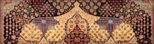 Tappeto Kashan Mothasham antico-700x200