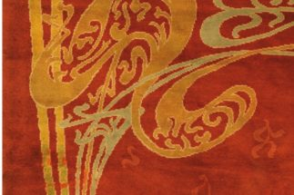 tappeto art nouveau