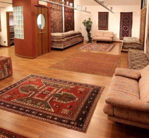 Bersanetti tappeti , un angolo dello showroom