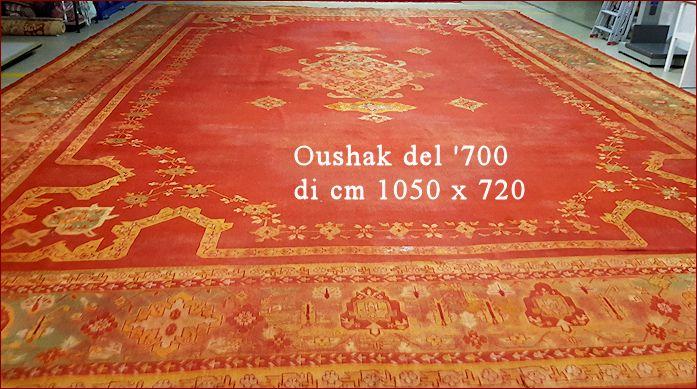 Tappeto Oushak