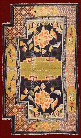 Tappeto da sella tibetano