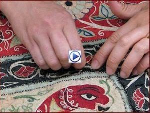 video tessuto antico