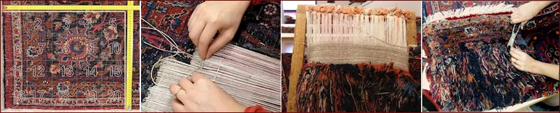 restaurare il tappeto
