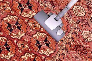 Come togliere la polvere dai tappeti