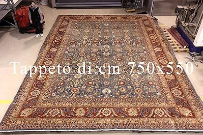Dove lavare tappeti enormi? Da BersanettiTappeti non esistono limiti.