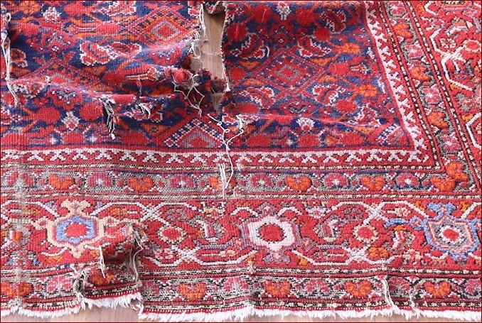lavare tappeti antichi