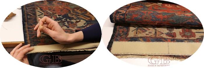 Appendere un tappeto antico bersanettitappeti ti spiega - Vi si confezionano tappeti da appendere al muro ...